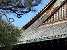 二の丸御殿の破風板に葵の御紋…