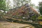 冬の弓櫓跡石垣(1)…