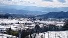 真田氏本城から見る真田の郷、上田市街…