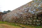 二の丸北面石垣…