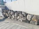 京橋口近く追手門小学校にある石垣