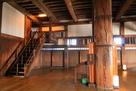 大天守3階、東大柱と上り用階段…
