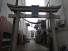 柴田神社の鳥居…