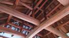 復元天守っぽい模擬天守の天井…