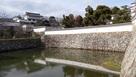 三国堀ごしに見る西の丸化粧櫓…