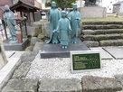 お市の方と三姉妹の像