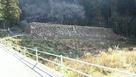 米蔵跡の石垣