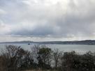 伝本丸跡展望台から南側の眺望