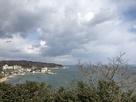 伝本丸跡展望台から北側の眺望…