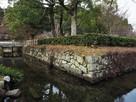 陣屋水堀と石垣…