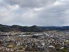 米田城遠景
