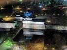 クラウンプラザホテルからの夜景…