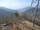 松尾古城と遠見番所中間の鉄塔からの眺め…