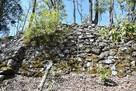 圧巻の石垣