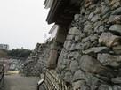 天守門の石垣 鏡石…