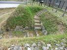 整備された二の丸埋門…