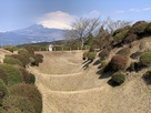 障子堀と富士山…