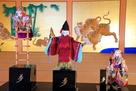 「夢童由里子の世界展」本丸御殿玄関二之間…