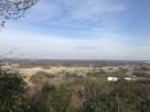 本郭から武蔵丘陵森林公園方面を望む…