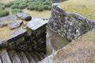 埋御門跡の階段…