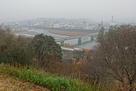 雨の人吉市街