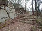 平井丸手前の石段…