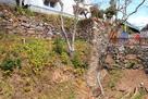 樅の丸南面から繋がる石垣…