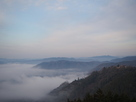 雲海と城址
