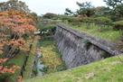 石垣と堀(表門付近)