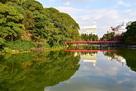 茶臼山と和気橋…