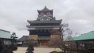 五分咲きの桜と清須城…