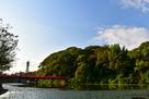 茶臼山、和気橋と通天閣…