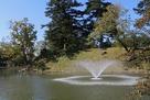 本丸堀と噴水