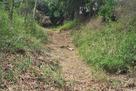 大池の西の竪堀…