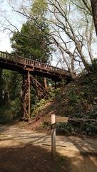 本丸への木橋