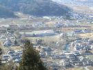 田口城の展望台から見たところ…