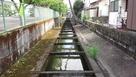 旧鹿島城 水堀…