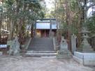 千早神社拝殿