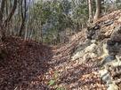 石積と空堀