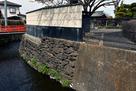 布積み石垣の遺構…