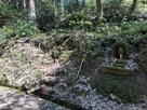 林道からの攻城口…