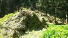 坂中門跡の石垣…