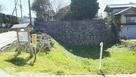 下渡門跡の石垣…