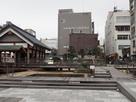 柴田神社と銅像