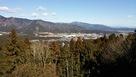 山頂から見た関ヶ原戦場…