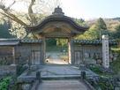 朝倉義景館跡の唐門…