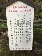 有子山登山道の見所…