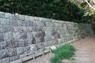 大鐘家屋敷の石垣…