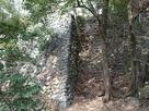 冠木門跡の石垣