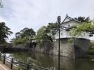 辰巳櫓からの表門からの二の丸隅櫓…